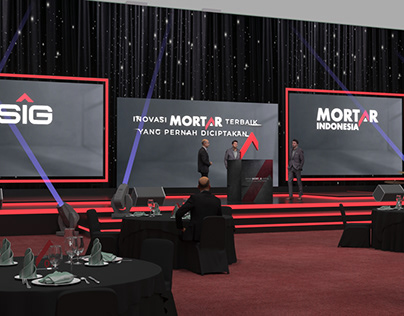Stage Design Mortar Grand Launching