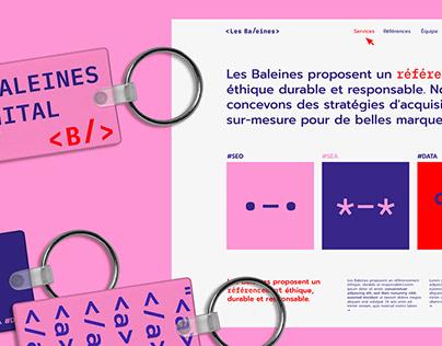 Les Baleines / Rebranding