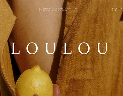 Loulou E-commerce Template
