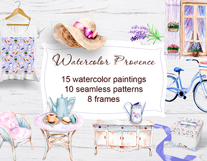 Watercolor Provence