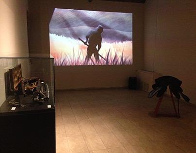 """Exhibition design """"Terra libera, Terra aperta"""""""