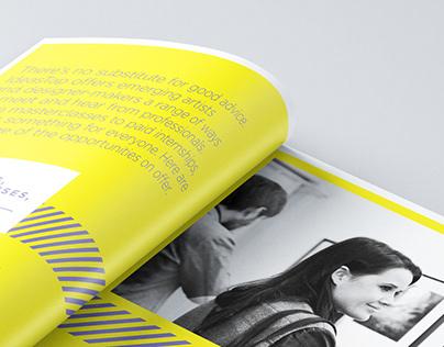 IdeasTap — Discipline Brochures
