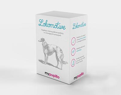 Packaging Design - LOKOMOTIVE (a medicine for pets)