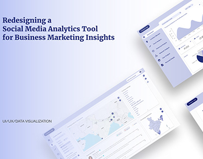 UI/UX | Redesign of a Social Media Analytics Tool