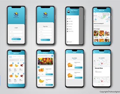 Groccery App Design And Development