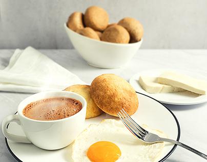 Fotografía desayuno colombiano