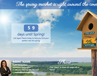 Web / Email Campaign - Spring Countdown