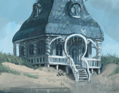 Jules and the Sea Shell House