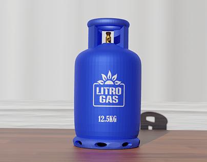 Litro gas cylinder
