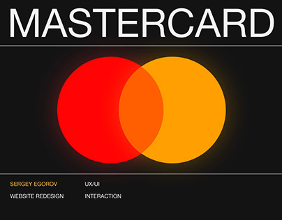 Mastercard — website redesign