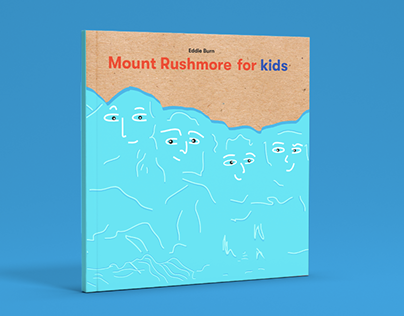 Mount Rushmore for Kids Illustrated Book Cover