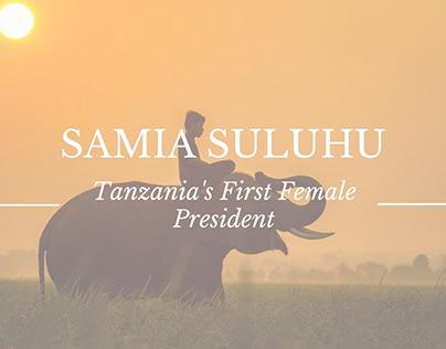 Samia Suluhu: Tanzania's First Female President