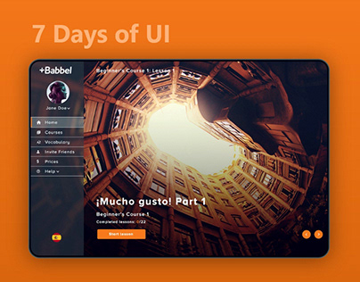 7 Days of UI