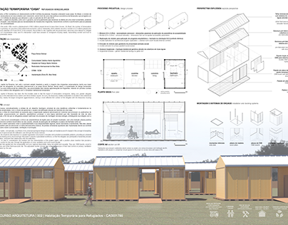 Concurso | Habitação Temporária para Refugiados