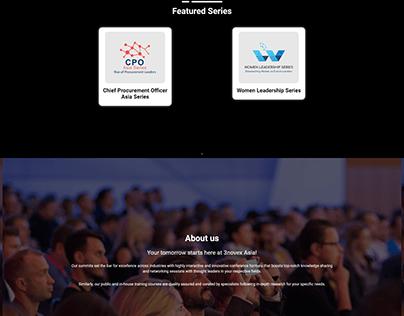 Event Host & Reservation website
