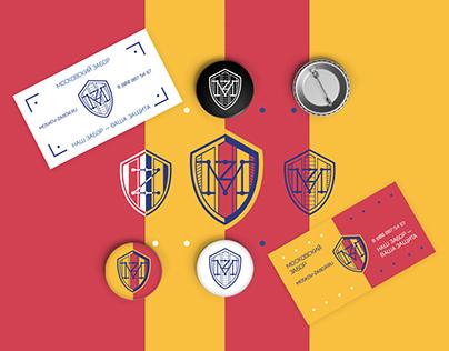 MZ logo and style. Fences/ Стиль Московского забора.