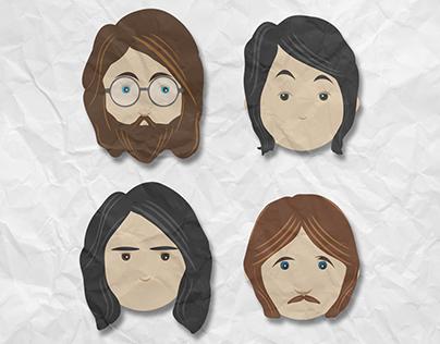 The Beatles Illustration Works