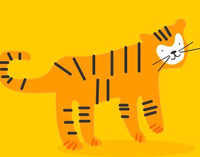 Dźwięki zwierząt- animacja interaktywna & edukacyjna