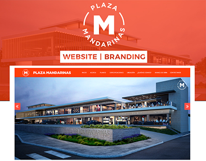 Plaza Mandarinas | Website & Branding
