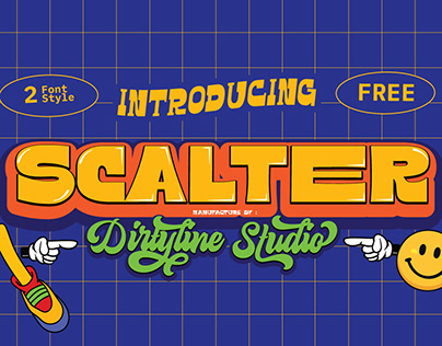 SCALTER - Free Typeface