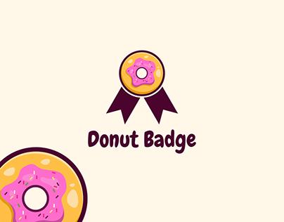 Donut Badge Logo