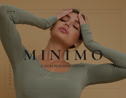 Minimo e-commerce concept