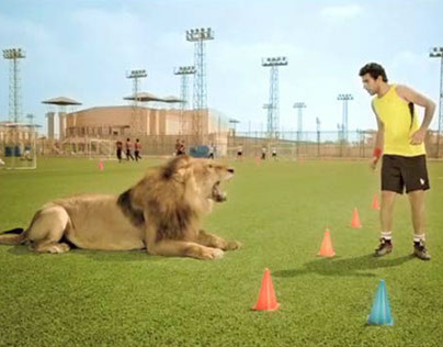 Moro lion TV Commercial