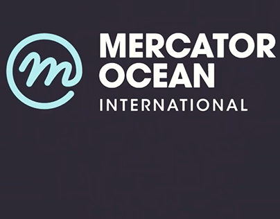 Motion design for Mercator ocean international