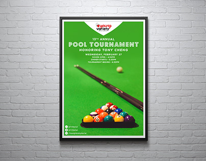Young Variety - 13th Annual Pool Tournament