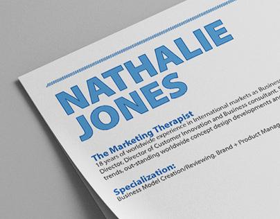 Nat Jones - Marketing Professional CV