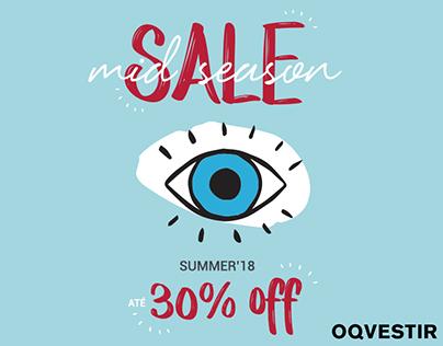 Campanha Mid Season Sale OQVestir