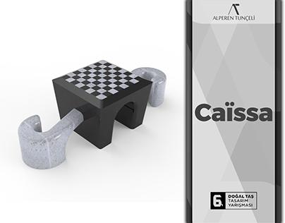 Caïssa Outdoor Chessboard