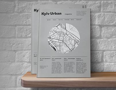 Urban magazine / concept