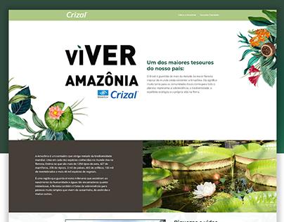 Landing Page para a Campanha Viver Amazônia