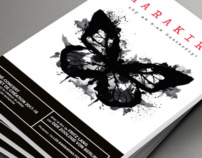 HARAKIRI BROCHURE AND CD