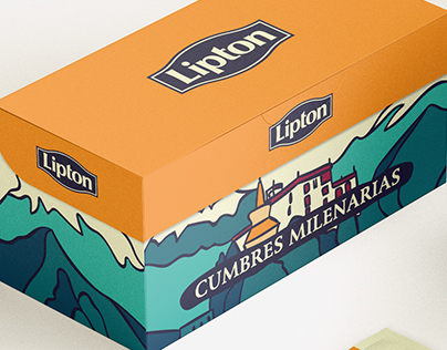 La ruta del TÉ-SORO Lipton tea Packaging