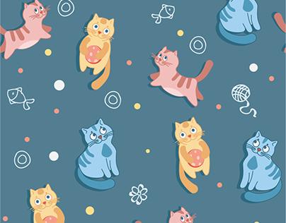 Паттерн котики