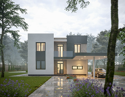 Project of house in Tallinn