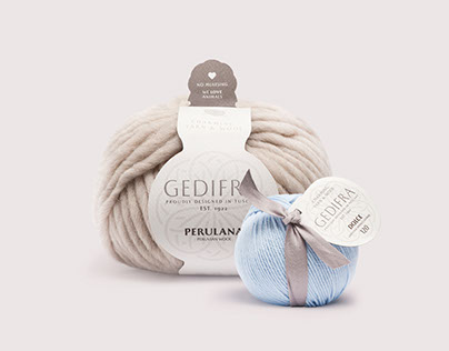 GEDIFRA - Charming Yarn & Wool / branding & labeling
