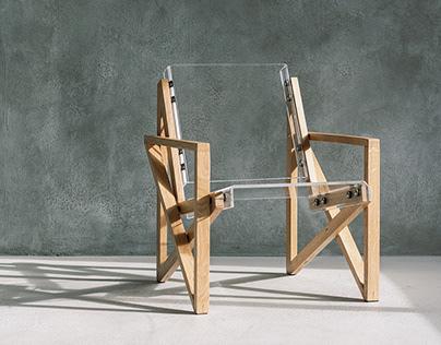 Transparent Chairs by Adorjan Portik