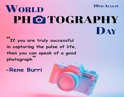 Social Media Banner | World Photography Day