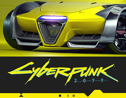 CYBERPUNK 2077, Rayfield CALIBURN 3D concept