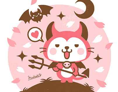 """Devils Cat """"Devi neko-kun"""" 4"""