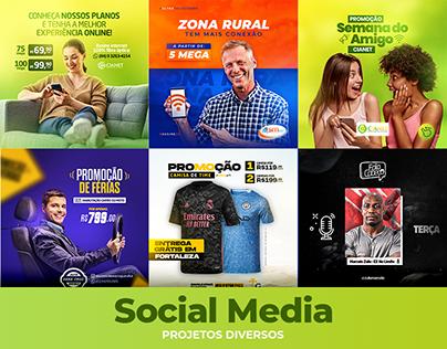 Social Media - Projetos Diversos 2021