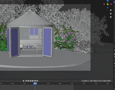 Blender Modelling and Rendering In Sketchup