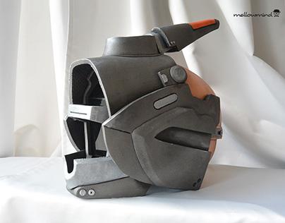 Destiny Warlock cosplay helmet 1:1
