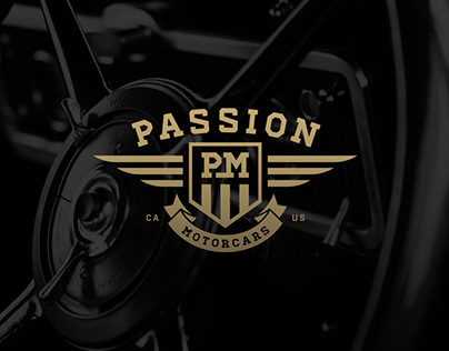 Passion Motorcars Branding and Website Design