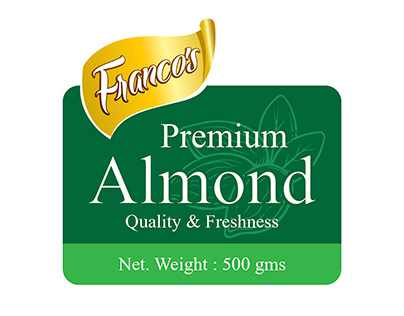 Francos Almond Packaging