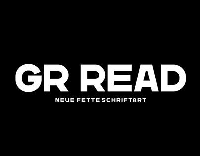 GR Read Typeface