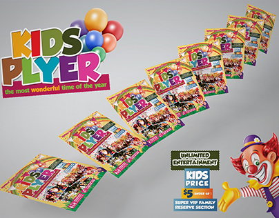 Kids Festival Flyer and Ticket